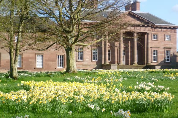 Paxton House at Daffodil Time
