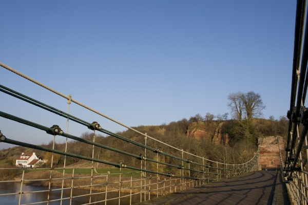 Along Union Chain Bridge