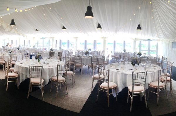Inside The Paddock Marquee