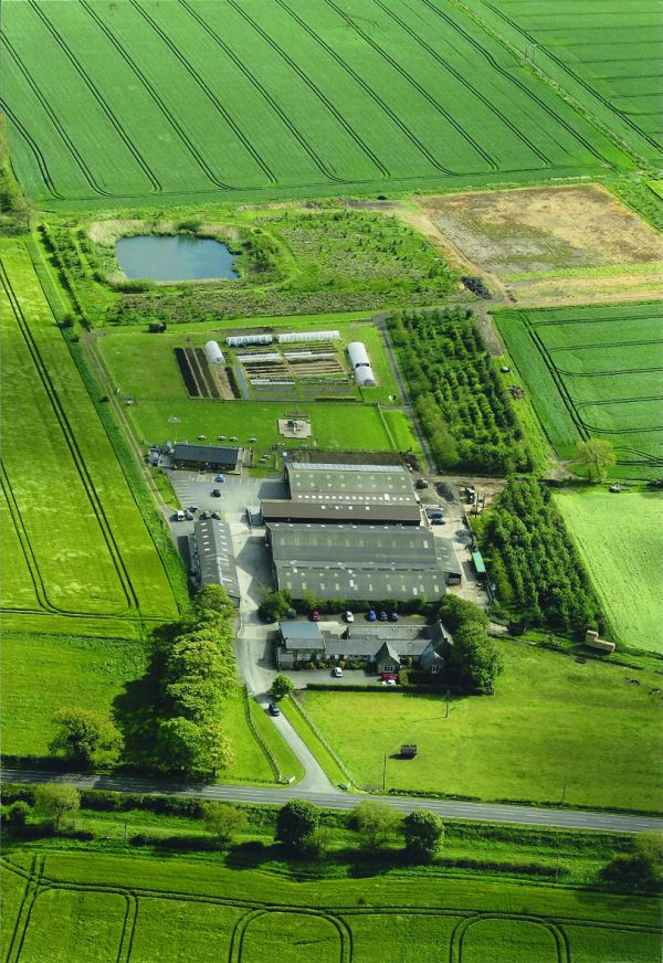 Vallum Farm Birds Eye View