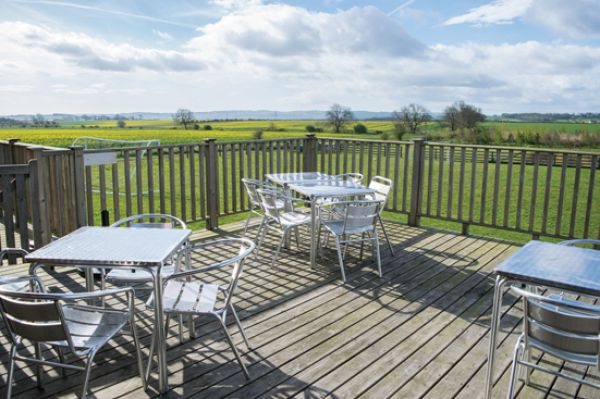 Vallum Tea Room Deck