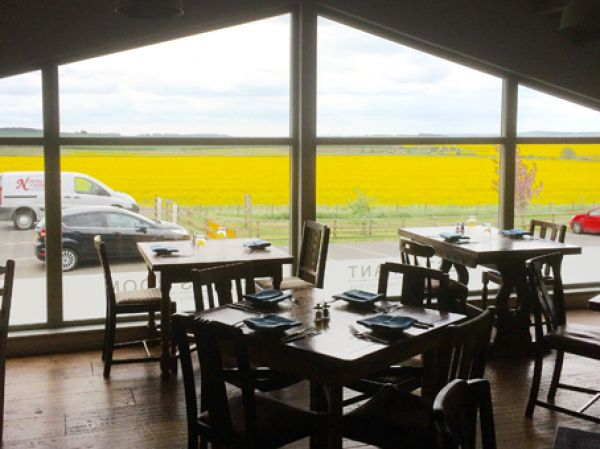 View From Vallum Restaurant