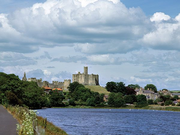 Warkworth from a far