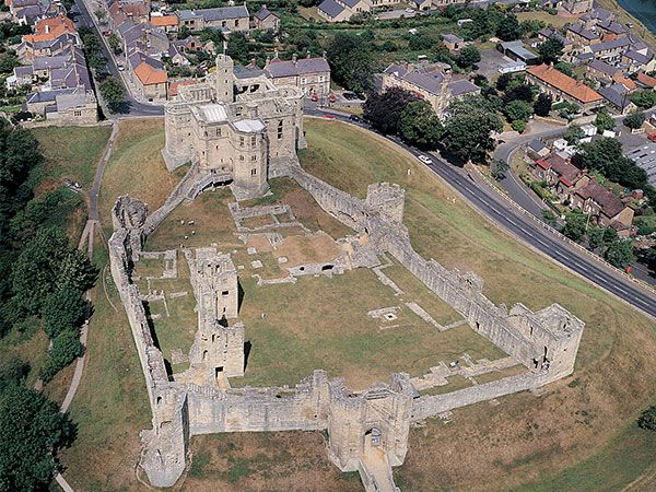 Warkworth from the sky