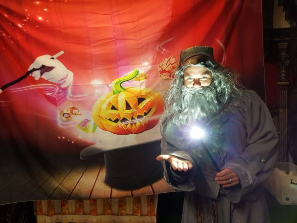 Programme of Events - Magic Merlin Halloween