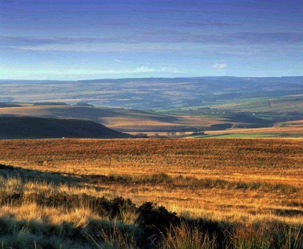 The stunning Tarset valley