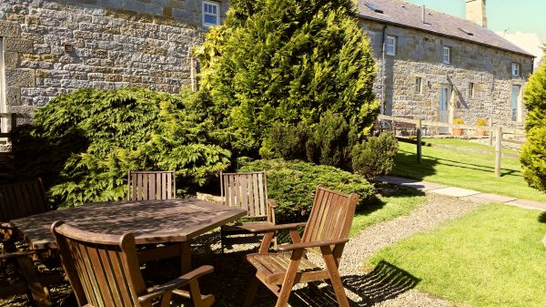 Gardens to enjoy & relax or miles of walking from the cottage