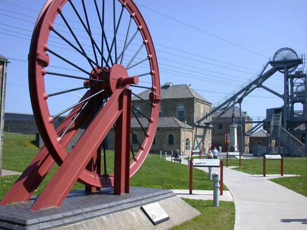 Wheel and entrance