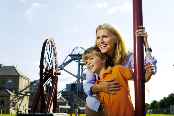Family fun at Woodhorn