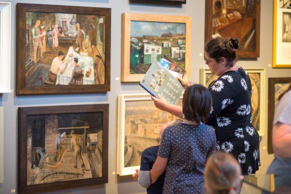 See the Pitmen Painters' art
