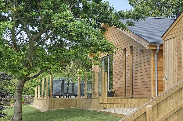 Woodside Lodge terrace