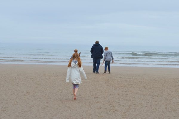 Coastal adventures in Northumberland