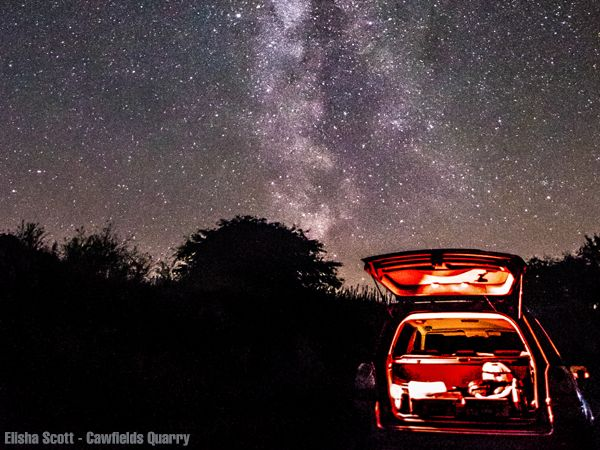 Celebrate the Northumberland International Dark Sky Park's 5th birthday