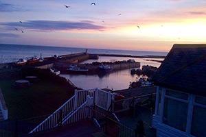 A view across Berwick-upon-Tweed Estuary