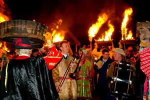 Allendale Tar Bar'l celebrations