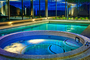 Walwick Hall pool