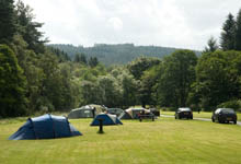 Camping in Kielder