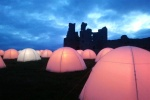 Peace Camp this weekend at Dunstanburgh Castle