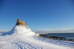 Lindisfarne Castle gets dressed for Christmas