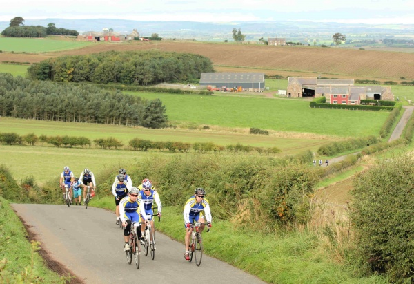 Boulting backs Wooler Cycle Hub's Cash for Kids cross-border event