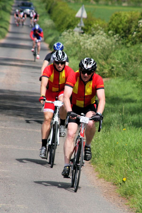 Cyclists set for triple test in 2015 with Wooler Wheel 'Triad'