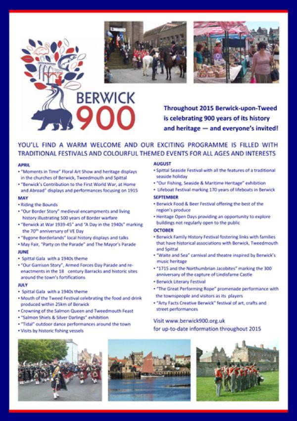 Berwick 900 festival open day