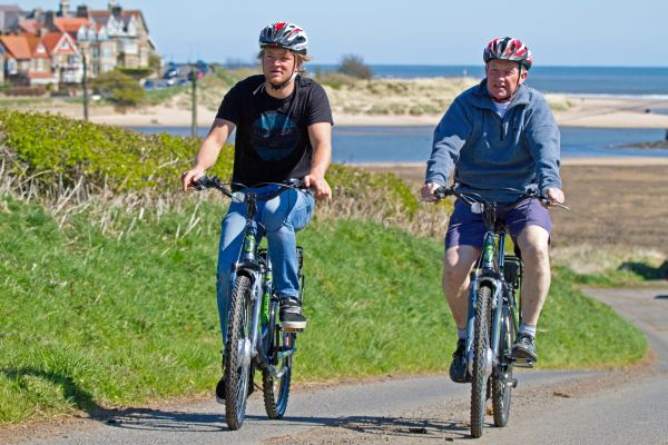 Explore the Northumberland Coast by electric bike