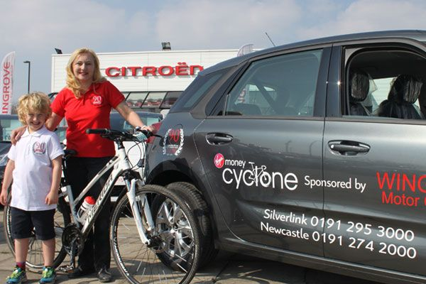 Celebrations as the 2015 Virgin Money Cyclone Festival of Cycling opens on River Tyne