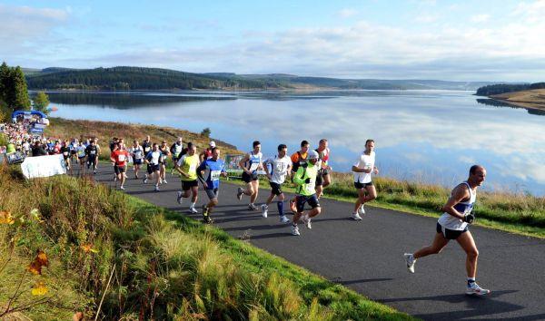Brilliant start to Britain's most beautiful marathon weekend