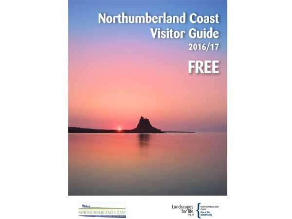 10,000 extra copies of popular Northumberland Coast AONB Visitor Guide for 2016