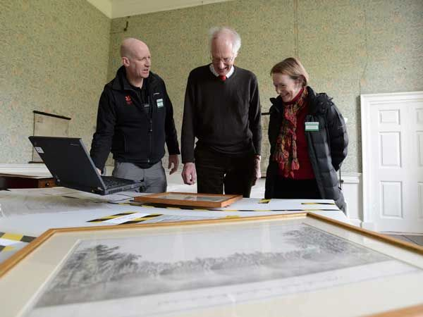 Director-General of National Trust visits Wallington to mark 300th birthday of Capability Brown
