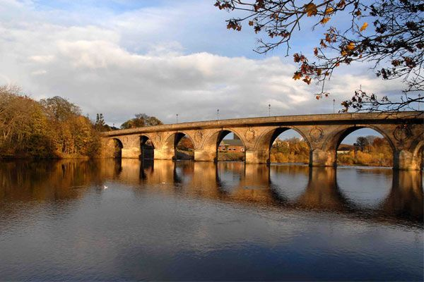 Hexham Railway Bridge Upgrades 2016