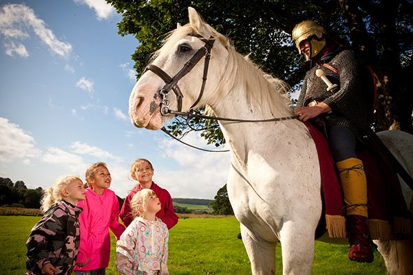 A weekend of Roman riders at Chesters Roman Fort