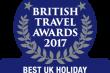Northumberland wins prestigious British Travel Award