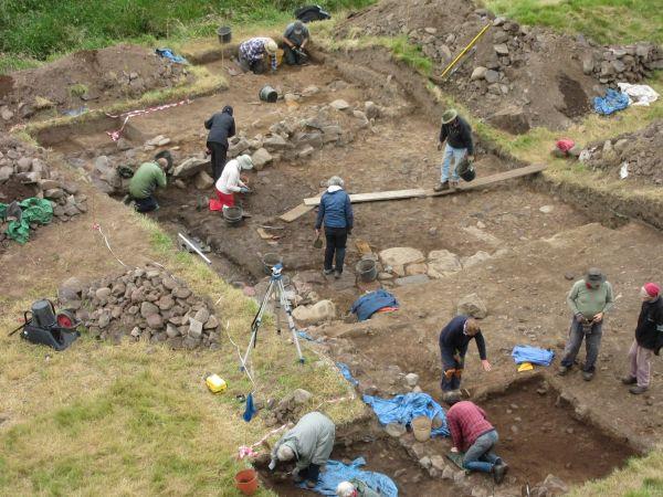 Archaeology volunteers in Coquetdale scoop national award