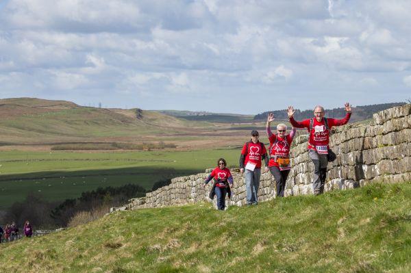 British Heart Foundation Hadrian's Wall Hike 2017