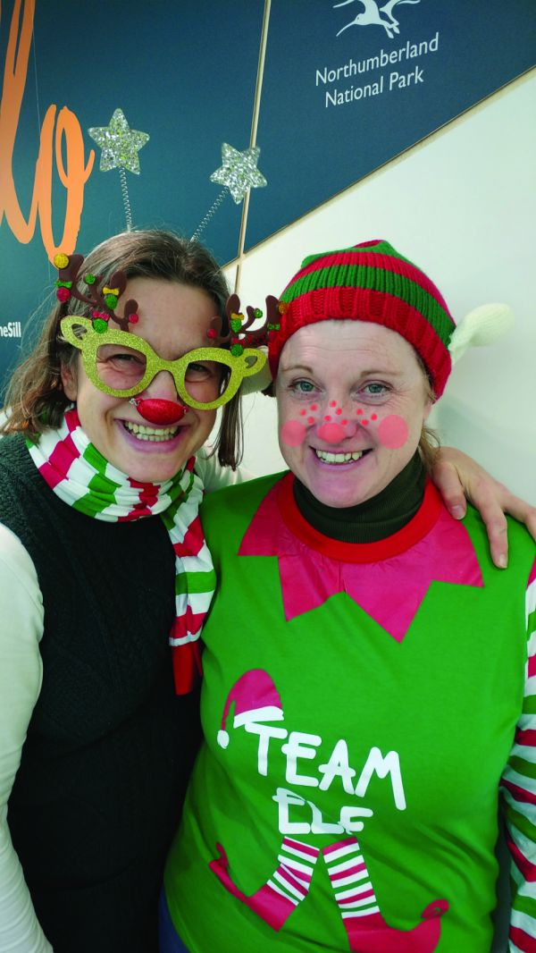 National Park Authority highlights the importance of 'elf and wellbeing' with a Jingle Bell Jog
