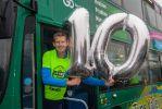 A busload of celebrations for Kielder Marathon's 10th anniversary