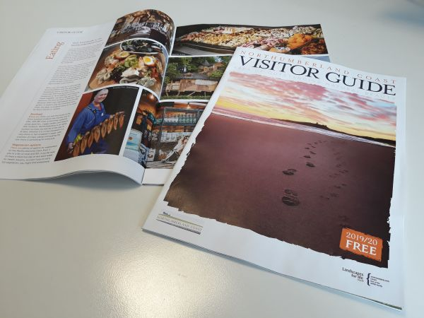 Walk away with the AONB Visitor Guide from North Tourism Fair