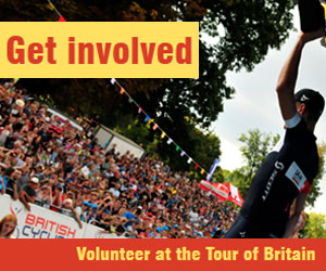Get involved with the Tour of Britain