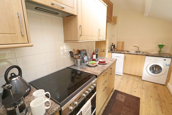 1 Coquet Lodge, Warkworth, kitchen