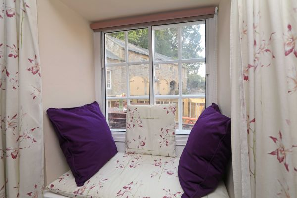 1 Coquet Lodge, Warkworth, window seat
