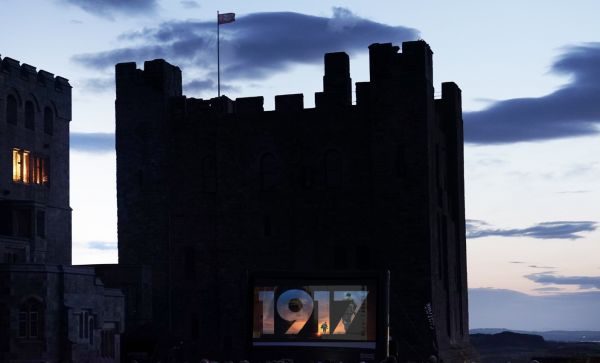 1917 Outdoor Cinema Event at Bamburgh Castle