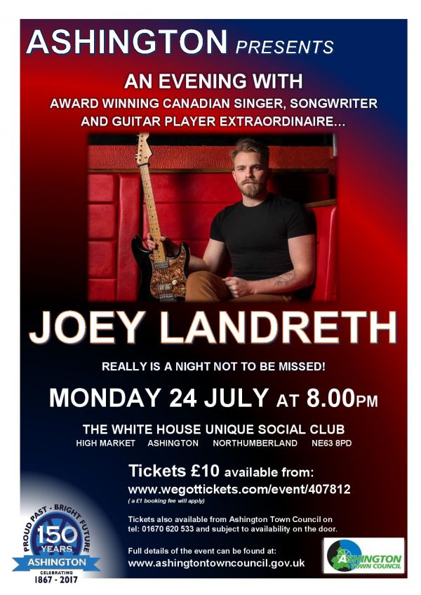 AN EVENING WITH JOEY LANDRETH