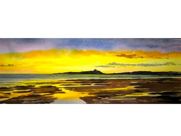 Dunstanburgh Castle November