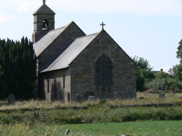 All Saints at Ryal is near Matfen Hall
