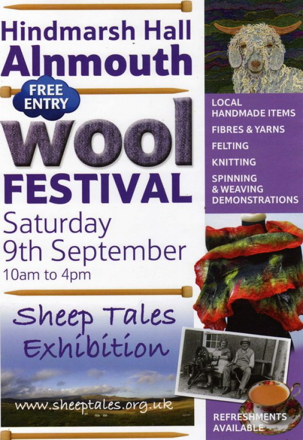 Alnmouth Wool Festival - Organised by Sheep Tales