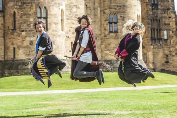 Broomstick Training with Wizards!