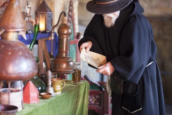 Medieval alchemist 2