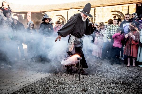 Medieval alchemist
